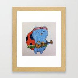 Catbug Framed Art Print