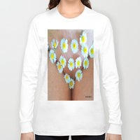 cunt Long Sleeve T-shirts featuring funny painting BDSM fetish Big dick cock suck oral sex pussy cunt transgender fuck slut bitch by Velveteen Rodent