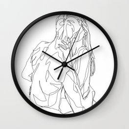 & we blossomed Wall Clock