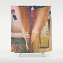 Falling Doll Shower Curtain