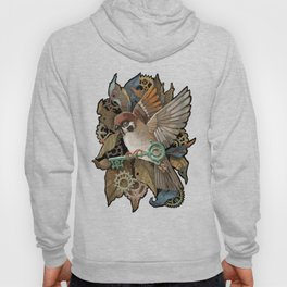 Clockwork Sparrow Hoody