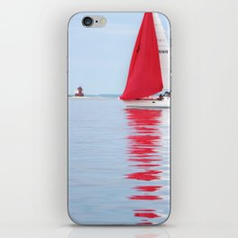 Straights of Mackinac iPhone Skin