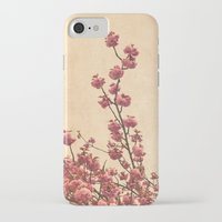 cherry blossoms iPhone & iPod Cases featuring cherry blossoms by Iris Lehnhardt
