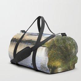 River Thames  Sunset Duffle Bag