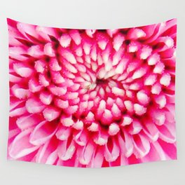 Cherry Pie Dahlia Wall Tapestry