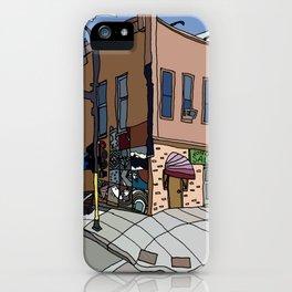 331 Club, Jon Oulman Salon, Modern Cafe - Minneapolis iPhone Case