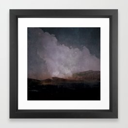 Range Framed Art Print