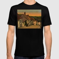 Daybreak Black X-LARGE Mens Fitted Tee