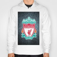 liverpool Hoodies featuring LIVERPOOL by Acus
