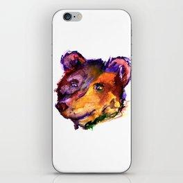 Colorful Bear iPhone Skin