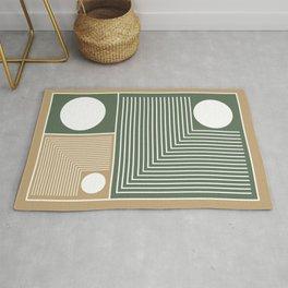 Stylish Geometric Abstract Rug