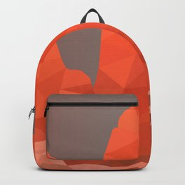 Torres del Paine National Park Low Poly Art Backpack