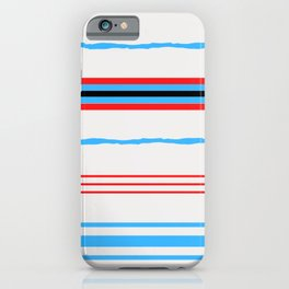 Between the white lines iPhone Case