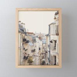 Montmartre Mon Amour - Paris Photography Framed Mini Art Print