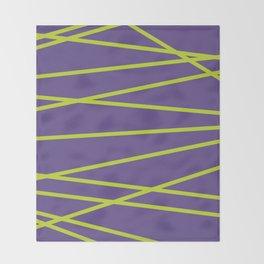 Violet Funk Throw Blanket