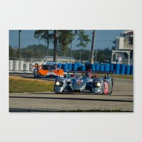 audi Canvas Prints featuring Audi P1 Sebring raceway by Aaron Joslin Photography