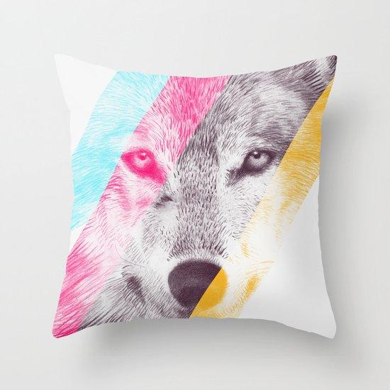 Wild 2 by Eric Fan & Garima Dhawan Throw Pillow