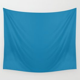Cerulean Blue Wall Tapestry
