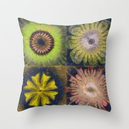 Methylator Structure Flowers  ID:16165-011604-36970 Throw Pillow