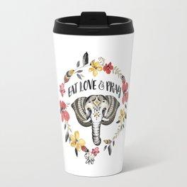 Eat Love & Pray Travel Mug