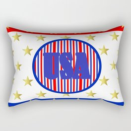 USA Stars And Stripes - United States Rectangular Pillow