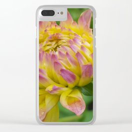 Feel Free to Bloom Clear iPhone Case