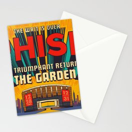 PHISH THE GARDEN TOUR DATES 2020 ASAMJAWA Stationery Cards