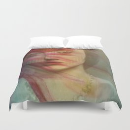 Last century woman Duvet Cover