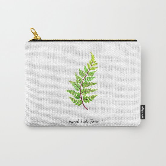 Eared Lady Fern Carry-All Pouch