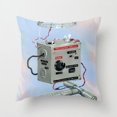 Uncle Rico's Time Machine Throw Pillow