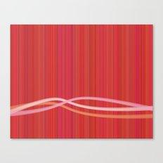 Strawberry Waves Canvas Print