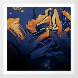 Wildstyle Close-Up - 18 Gran Canaria Art Print