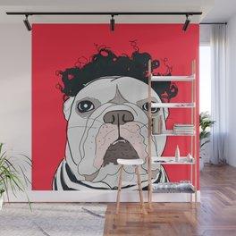 Venice Bulldog Wall Mural