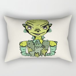 Creature from the Black Lagoon Rectangular Pillow