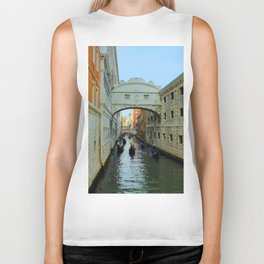 Bridge of Sighs, Venice, Italy,  in the late afternoon sun. Biker Tank