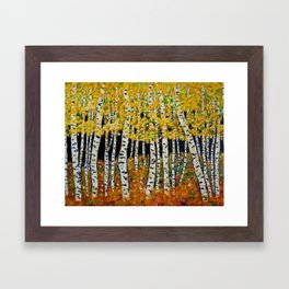 Aspen Grove Framed Art Print