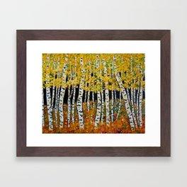 Aspen Grove Framed Art Print