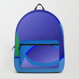 The pushovers on blue ... Backpack