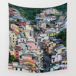 The Beautiful Riomaggiore Wall Tapestry