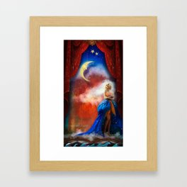 Only a Paper Moon Framed Art Print