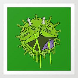 Puppy Virus is Going Viral Art Print