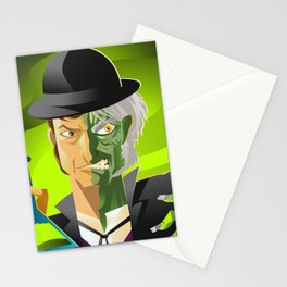 doctor jekyll and mister hyde monster tranformation with green potion Stationery Cards