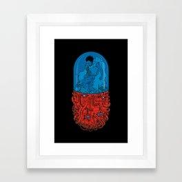 Cyberpunk Experiment Framed Art Print