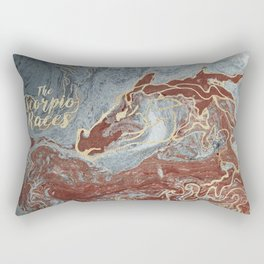 The Scorpio Races - Red as the Sea Rectangular Pillow