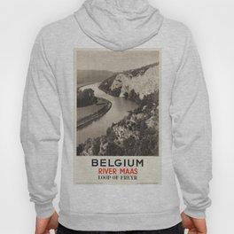 Vintage poster - Belgium Hoody