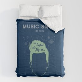 The Higher, The Fly-er — Music Snob Tip #074 Comforters