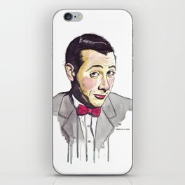 Pee Wee iPhone Skin