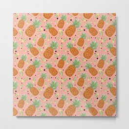 Pineapple Dream Metal Print