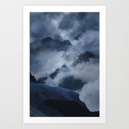 Top of Europe Art Print