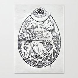 Biflorus Canvas Print